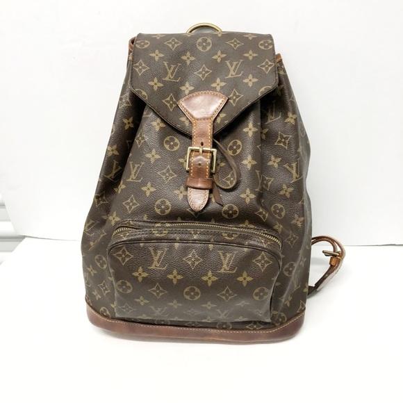 Vintage Louis Vuitton Monogram Backpack 7b5b77b8a653d